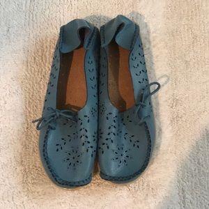 Blue Slip on Shoes, NWOT